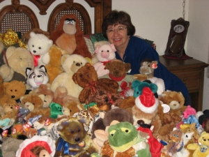 2010 Stuffed Animal Donations Rosemarie Trevino