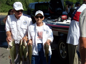 Gail and Larry Pederzani Lake Austin Winners