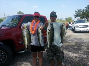 Leslie Killough and Brent Parish Lake LBJ