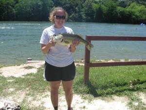 Kristi White Big Bass
